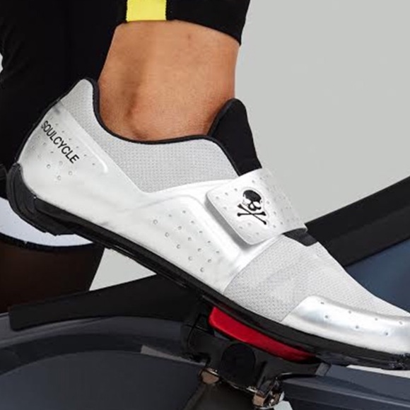 soulcycle Shoes   Silver Legend Spin